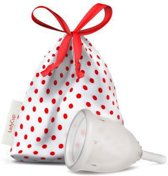 LadyCup Menstruatiecup transparant - Maat S