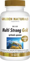 Golden Naturals Multi Strong Gold (180 tabletten)