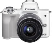 Canon EOS M50 + 15-45mm IS STM - Wit