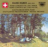 Huber:Klavierkonzerte 1+3