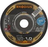 Rhodius XT10 doorslijpschijf 125 x 1,5 mm (50 Stuks)