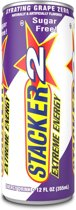 Stacker Extreme Energy Drink Gyrating Grape Zero