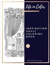 INSPIRATION ADULT COLORING BOOK (Book 6)
