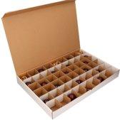 Kerstballen Opbergbox  - Vakjesdoos voor 54 Kerstballen van 6 cm