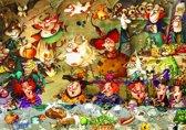 Legpuzzel - 1500 stukjes - Heks - Etentje,  F. Ruyer - Grafika puzzel