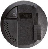 Relco Rondo Vloerdimmer Zwart LED 4-100W Ø94×37mm