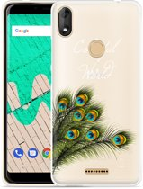 Wiko View Max Hoesje Peacock World