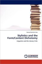 Stylistics and the Form/Content Dichotomy