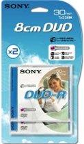 Sony 2DMR30A-BT - DVD-R 1.4GB, 2-pack