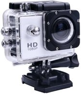 Sports FULL HD Camera DV (waterresistant) 1080p Actioncam + 12 Accessoires - Silver