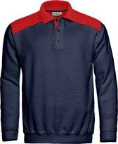 Santino Tesla Polosweater Marineblauw/kobalt XXL
