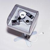 Opbergbak E-base kunststof grijs