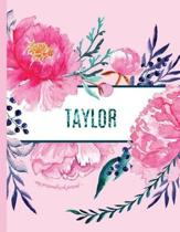 Taylor - My Personalized Journal