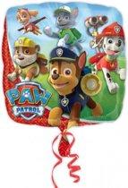 Paw Patrol Folieballon Vierkant 46cm