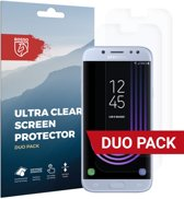 Rosso Samsung Galaxy J5 2017 Ultra Clear Screen Protector Duo Pack
