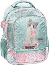 Studio Pets Kitty on Car - Rugzak - 40 cm - Multi