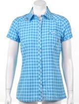 Exxtasy Dumont - Outdoorshirt -  Dames - Maat 38 - Licht blauw;Roze