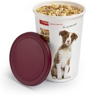 Sunware Twinga Huisdieren voerton - 45 l - wit/Bruin