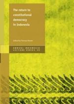 Return to Constitutional Democracy in Indonesia