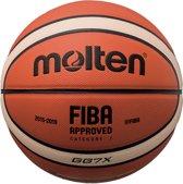 Molten BasketbalKinderen en volwassenen - oranje/wit/zwart