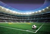 Fotobehang Football Stadium Sport | M - 104cm x 70.5cm | 130g/m2 Vlies