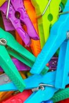 Clothes Pegs Notebook