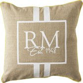 Riviera Maison RM EST 1948 Pillow Cover - Kussenhoes - 50x50 cm