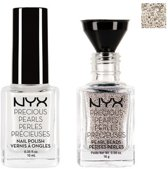 NYX Precious Pearls Nail Jewelry - 02 White Pearl - Giftset - Make-up geschenkverpakking