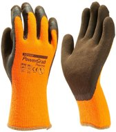 Towa Winter Werkhandschoen Powergrab Thermo Oranje - maat 9 - L