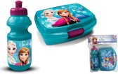 Frozen lunchbox  set / broodtrommel turguoise