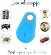 iTag keyfinder GPS tracker (BLAUW) huisdieren bagage + stylus pen