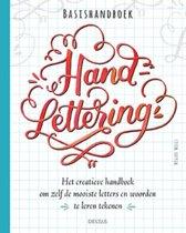 Omslag van 'Basishandboek handlettering'