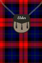 Elder Clan Tartan Journal/Notebook