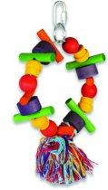 Happy Pet Speelgoed Papegaai - Cartwheel - 28x15x8 cm
