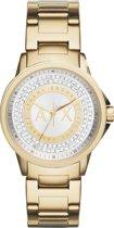 Armani Exchange Goudkleurig vrouwen Horloge AX4321