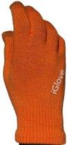 iGlove Touchscreen Handschoenen Oranje + Cadeauverpakking