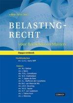Belastingrecht voor Bachelors en Masters 2016/2017 Opgavenboek