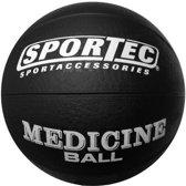 Sportec Medicine Bal Rubber 5 Kg Zwart