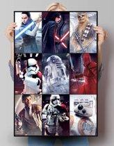 Star Wars - The Last Jedi Collage - Poster 61 x 91.5 cm
