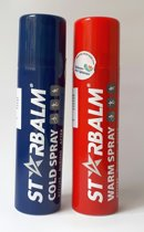 Starbalm Koelspray en Warmte Spray 150ml