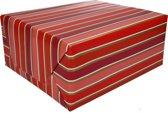 Inpakpapier met strepen 200 x 70 cm op rol type 7 - cadeaupapier