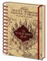 HARRY POTTER - Notitieboek A5 - The Marauders Map