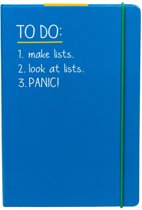 A5 'To Do' Notebook Blue