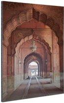 Architectuur India Aluminium 80x120 cm - Foto print op Aluminium (metaal wanddecoratie)