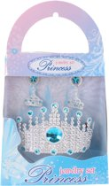 Free And Easy Prinsessenset 3-delig Zilver/blauw