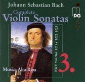 Complete Violin Sonatas Vol.3