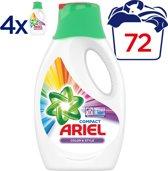 Ariel Kleur & Stijl - Voordeelverpakking 4x18 wasbeurten - Vloeibaar Wasmiddel