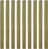 vidaXL 20 st Heklatten 120 cm geïmpregneerd FSC hout