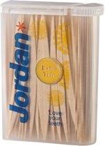 Jordan Tandenstokers Extra Dun 2-zijdig Voordeelverpakking