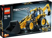 LEGO Technic Graafmachine met Laadbak - 8069
